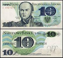 Польша 10 злотых 1982 UNC