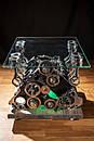 Журнальний стіл Pride&Joy із автозапчастин (двигуна), фото 8