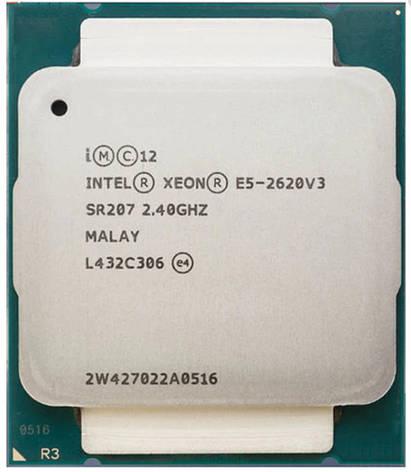 Процесор Intel® Xeon® E5-2620 v3 LGA2011 up to 3.20 GHz,(6 ядер /12 потоків), фото 2