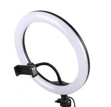 Светодиодная LED лампа с регулировкой свечения селфи кольцо с креплением на штатив Ring Fill Light 33 см, фото 3