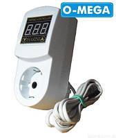 Терморегулятор цифровой МТР-2 с заземлением 16А для инкубатора (-55...+125)