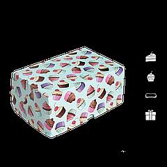 Коробка для торта КТ 0213 кексы 177х118х78мм