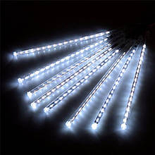 LED Гирлянда-Метеоритный Дождь 50 см, 8 шт. Белый
