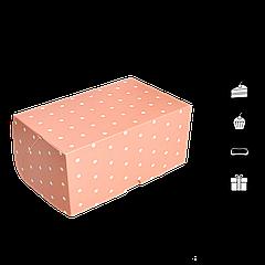Коробка для торта КТ 0216 розовая 177х118х78мм