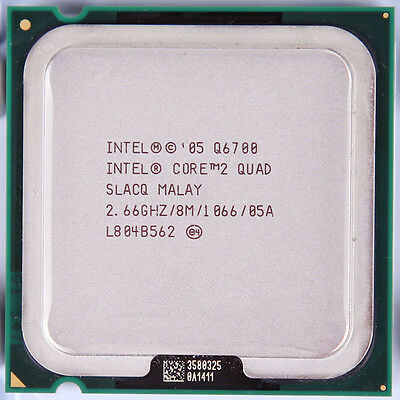 Процесор Intel® Core™2 Quad Q6700 LGA775 2.66 GHz + термопаста GD900