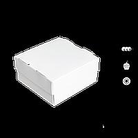 Коробка для суші СУ 0400 (1 рол) біла 100*100*50мм 25шт/уп (Р)