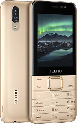 Мобильный телефон Tecno T474 Champagne Gold Гарантия 12 месяцев, фото 2