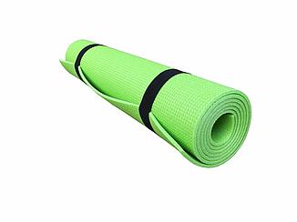 Коврик для фитнеса и спорта  Naprolom К5, зеленый