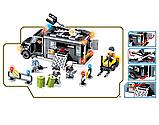 """Дитячий конструктор JVToy 24014 """"РИЗИКОВАНА ОПЕРАЦІЯ"""" серія ЧУДОВЕ МІСТО сподобається всім маленьким, фото 2"""