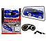 Антигравитационная машинка Climber CAR MX-01 синяя | радиоуправляемая машинка с пультом ДУ ездит по стенам, фото 2