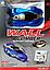 Антигравитационная машинка Climber CAR MX-01 синяя | радиоуправляемая машинка с пультом ДУ ездит по стенам, фото 4