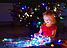 Гирлянда зерно 200LED 15м Микс (RD-7166), Новогодняя бахрама, Светодиодная гирлянда, Уличная гирлянда, фото 2