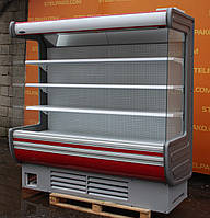 Холодильная горка «Технохолод Аризона» 2.0 м. (Украина), LED - подсветка, Б/у, фото 1