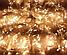 Гирлянда 100LED 10м (контрол.220V) (БП) Тёплый, Новогодняя бахрама, Светодиодная гирлянда, Уличная гирлянда, фото 6
