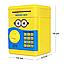 """Копилка электронная сейф """"Minion"""", банкомат для денег с пин-кодом   детский электросейф с кодовым замком, фото 8"""