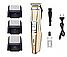 Профессиональная машинка для стрижки Gemei GM 6077 с насадками, фото 4