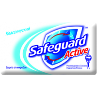 "Мило ""Safeguard"" 90г Класичне/-672/"