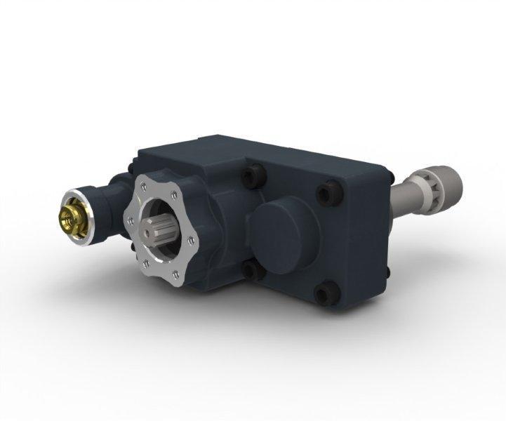 Коробка відбору потужності Iveco 2895.9 заднє кріплення