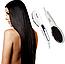 Керамическая электрорасческа для волос Gemei GM-2993 | Расческа для выпрямления волос с керамическим покрытием, фото 2