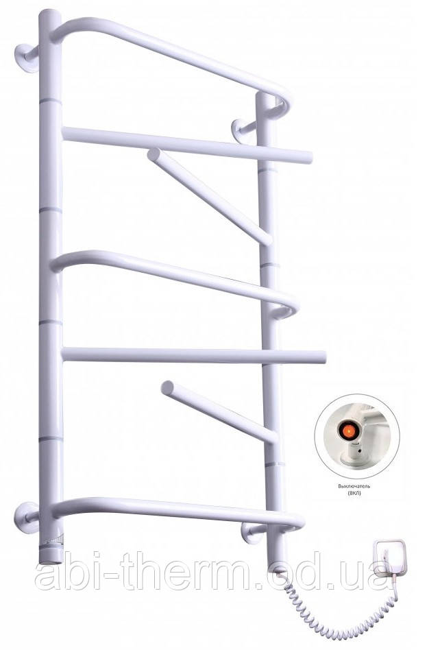 Полотенцесушитель Комфорт-7 белый 810x430 (правое подключение)