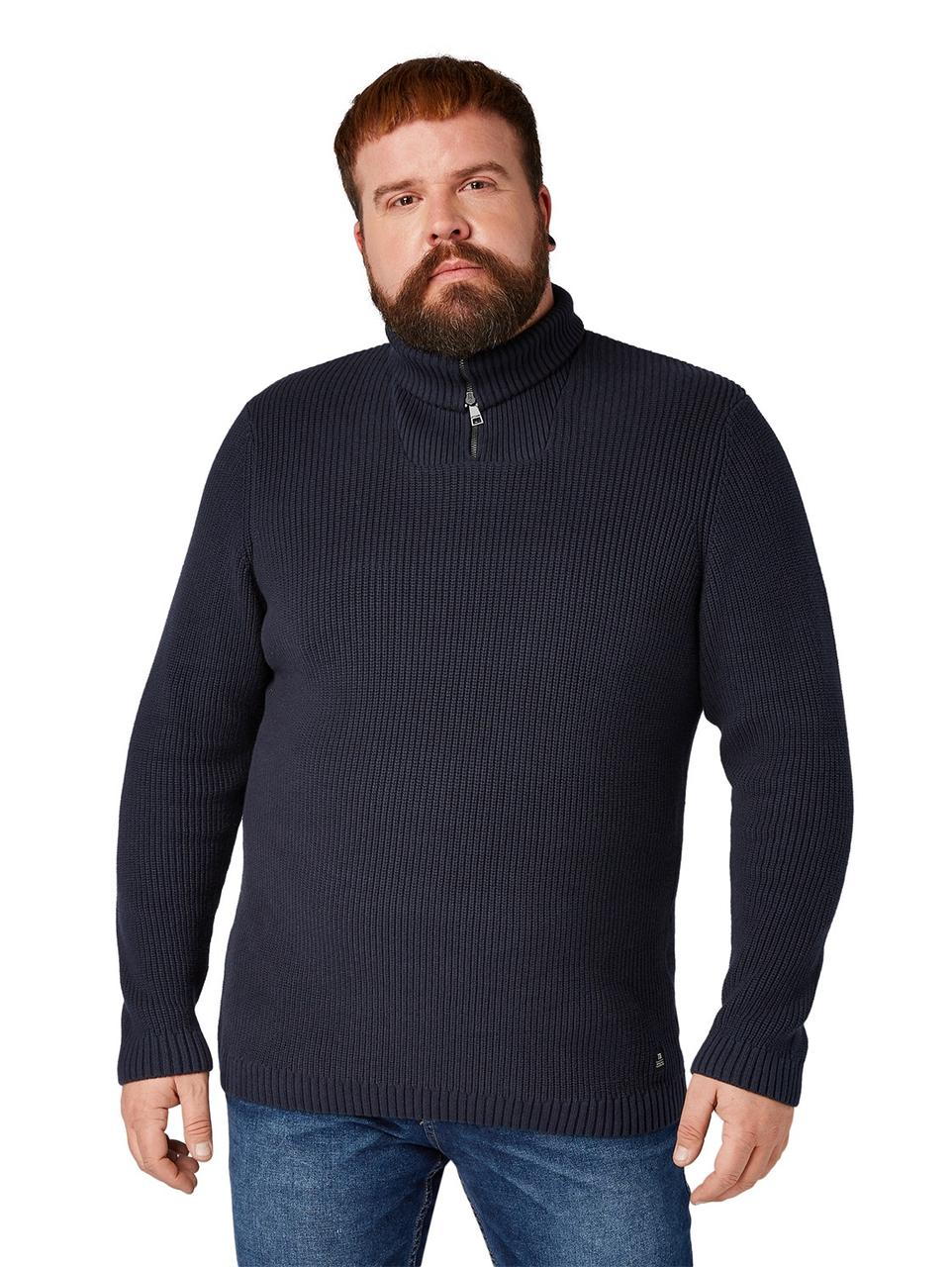Свитер Tom Tailor 1008484 3XL Темно-синий