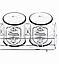 Набор для приправ и специй Maestro MR-20030-04СS | спецовник Маэстро, баночки для специй Маестро, фото 4