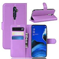 Чехол-книжка Litchie Wallet для Oppo Reno 2Z Violet