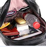 Женские рюкзаки Цвет черный, фото 4