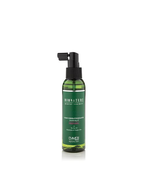 Масло для волос Emmebi Italia Bionature Olio Cheratinizzante 125 ml