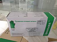 Перчатки медицинские латексные опудреные S, 100шт (мин от 10 уп)