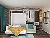 Стенка со шкаф-кроватью и диваном