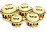 Набор эмалированных кастрюль с крышками Benson BN-121 желтый (10 предметов) | кастрюля Бенсон, Бэнсон, фото 5