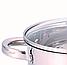 Набор кастрюль Benson BN-291 из нержавеющей стали 10 предметов (+ ковш, сковорода) | кастрюля Бенсон, Бэнсон, фото 5