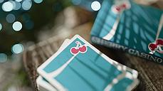Карты игральные   Cherry Casino (Tropicana Teal), фото 2