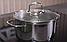 Кастрюля с крышкой Vinzer Techno Series 89082 (3.7 л) нерж. сталь | набор посуды Винзер | кастрюли, посуда, фото 5