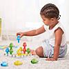 """Объёмная мозаика """"Разноцветные колышки"""" Quercetti, фото 2"""