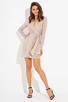 Вечернее трикотажное платье с люрексом PF-4718-02