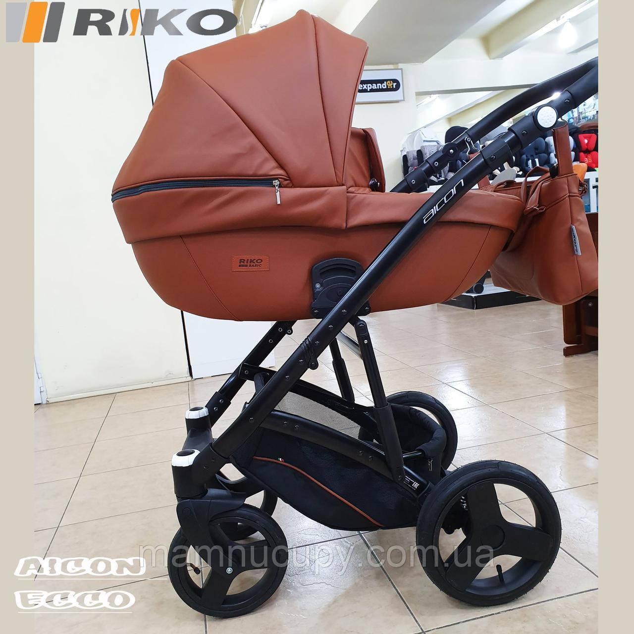 Универсальная коляска 2 в 1 Riko Basic Aicon Ecco 06