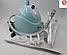 Отпариватель DOMOTEC MS-5350 ручной вертикальный паровой утюг для одежды, фото 4
