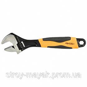 Ключ разводной 250 мм, двухкомпонентная рукоятка, SPARTA