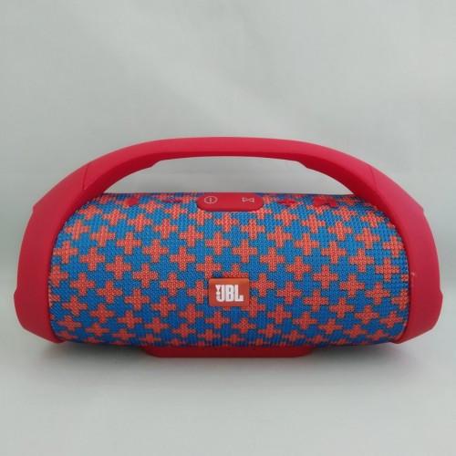 Портативная колонка JBL Boombox Mini (Сине-Красная)