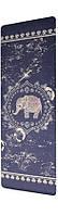 Коврик резиновый для йоги Bavar Sport 5мм с рисунком слона