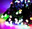 Гирлянда 100LED (ЧП) 9м Микс (RD-7127), Новогодняя бахрама, Светодиодная гирлянда, Уличная гирлянда, фото 5