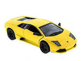 "Машинка KINSMART ""Lamborghini Murcielago LP"" желтая"