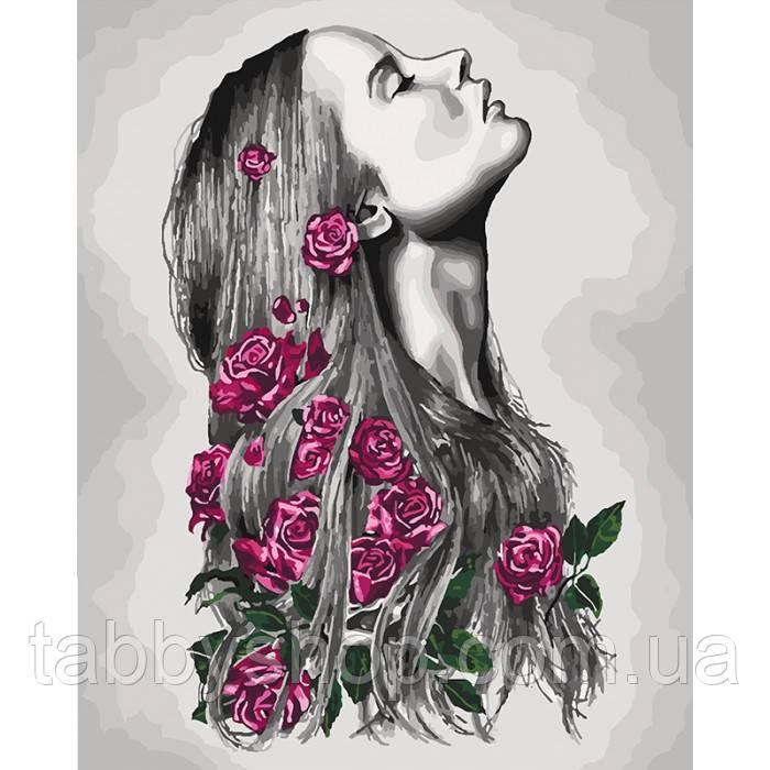 Картина по номерам Идейка - Расцветаю