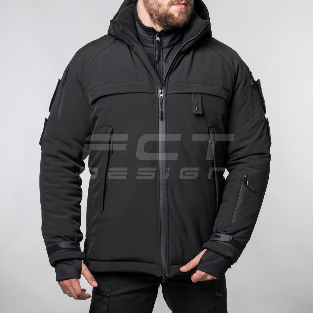 Куртка Патрол Софтшелл тактическая для Полиции термофлис
