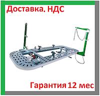 Стапель, платформенный, автомобильный, для рихтовки кузова, стенд, авто, вытяжки, правки, WT-400