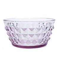 Пиала стеклянная фиолетовая Tiffany