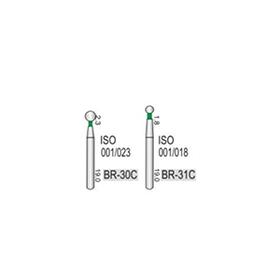 Алмазные турбинные боры грубые (125-150μ), BR - шарик