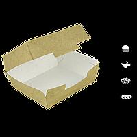 Упаковка для бургера Крафт 115*115*60мм 50шт/уп